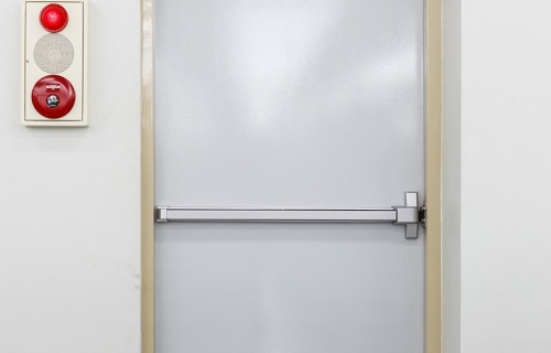 Security door - Tubular fabrics - Applications