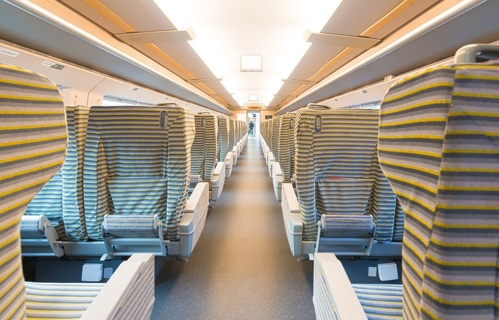 Train: interieur - Distance fabrics - Applications